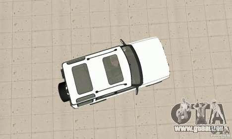 Land Rover Discovery 2 für GTA San Andreas rechten Ansicht