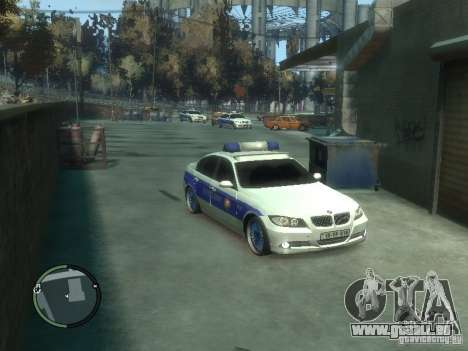 BMW 320i Police pour GTA 4