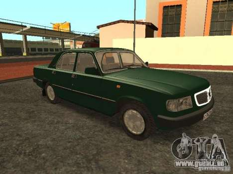 GAZ 3110 c. 2 pour GTA San Andreas vue de droite