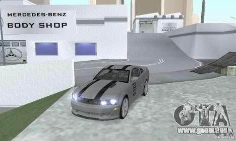 Saleen S281 Pack 1 für GTA San Andreas zurück linke Ansicht
