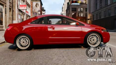 Honda Civic Si pour GTA 4 est une gauche