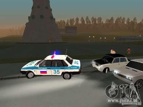 VAZ 2101 weiß Kinder für GTA San Andreas Innenansicht