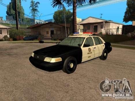 Ford Crown Victoria 2003 Police für GTA San Andreas
