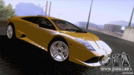 Lamborghini Murcielago LP640 2006 V1.0 pour GTA San Andreas vue de droite