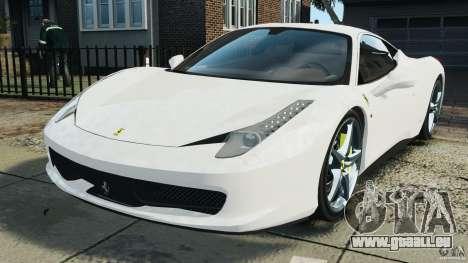 Ferrari 458 Italia 2010 v2.0 für GTA 4