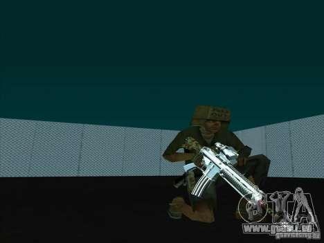 New Weapons Pack für GTA San Andreas dritten Screenshot