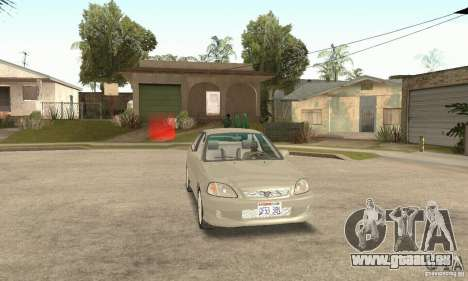 Honda Civic 1998 für GTA San Andreas