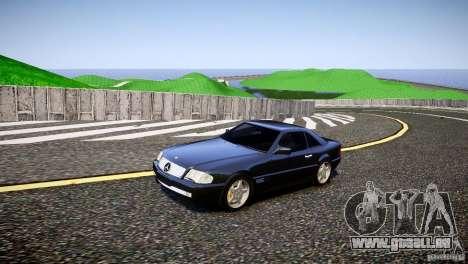 Mercedes SL 500 AMG 1995 für GTA 4 linke Ansicht