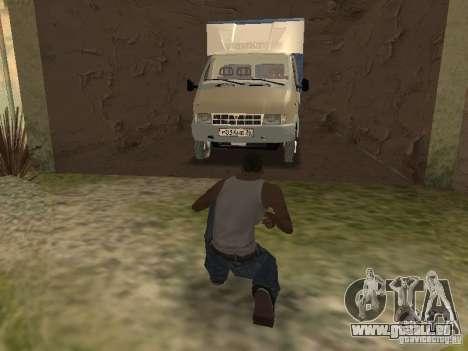 GAZ 3302 im Jahr 2001. für GTA San Andreas obere Ansicht