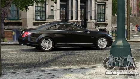 Mercedes-Benz CL65 AMG v1.5 pour GTA 4 est un côté