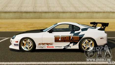 Toyota Supra Top Secret pour GTA 4 est une gauche