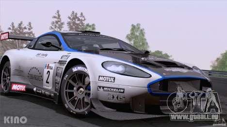 Aston Martin Racing DBRS9 GT3 für GTA San Andreas Seitenansicht