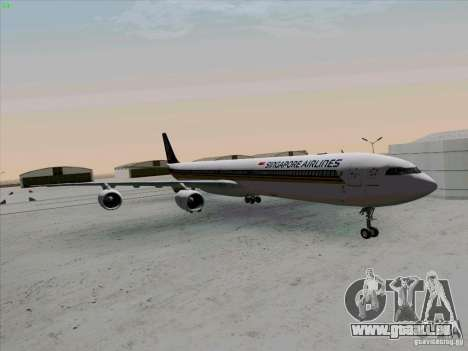 Airbus A-340-600 Singapore pour GTA San Andreas