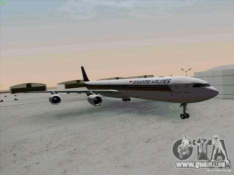 Airbus A-340-600 Singapore pour GTA San Andreas