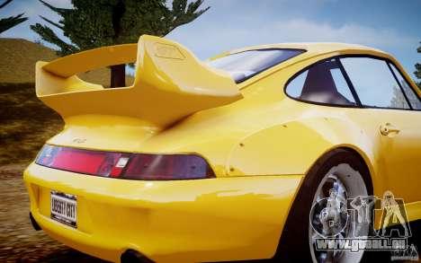 Porsche 911(993) GT2 1995 pour GTA 4 est une gauche