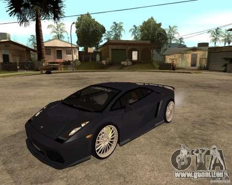 Lamborghini Gallardo für GTA San Andreas Seitenansicht