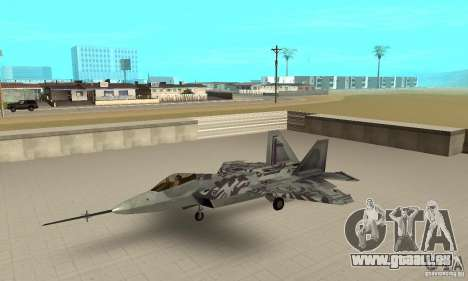 YF-22 Starscream für GTA San Andreas