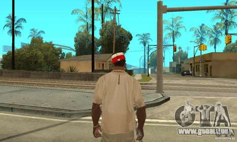New Era Cap pour GTA San Andreas deuxième écran