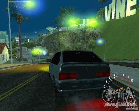 VAZ 2113 Ferarri für GTA San Andreas Innen