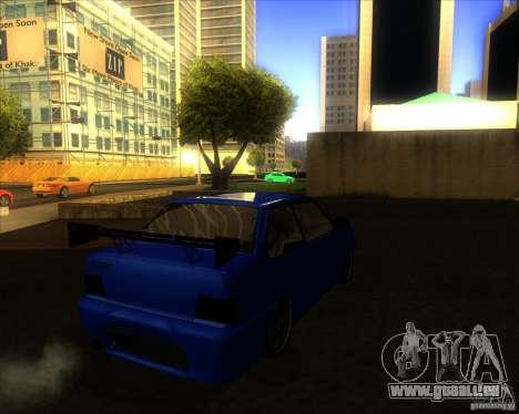 VAZ-2115-Coupé für GTA San Andreas rechten Ansicht