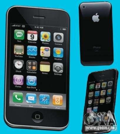 Iphone pour GTA San Andreas cinquième écran