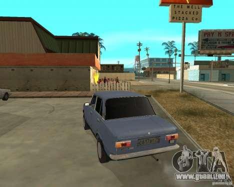 Kopeyka (corrigé) pour GTA San Andreas sur la vue arrière gauche