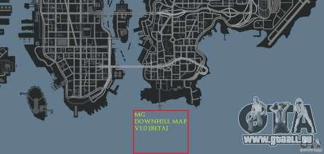 MG Downhill Map V1.0 [Beta] für GTA 4 achten Screenshot