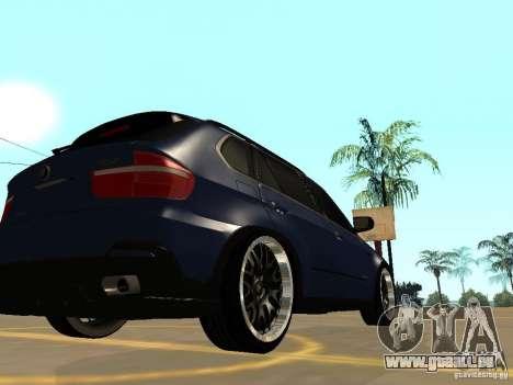 BMW X5 für GTA San Andreas linke Ansicht