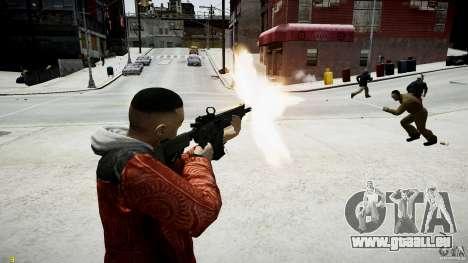 Colt CM901 de MW3 pour GTA 4 cinquième écran