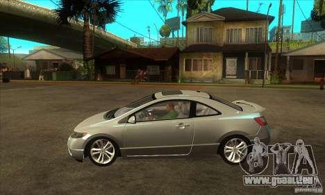 Honda Civic Si - Stock pour GTA San Andreas laissé vue
