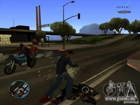 GTA IV TARGET SYSTEM 3.2 pour GTA San Andreas sixième écran