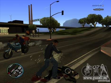 GTA IV TARGET SYSTEM 3.2 für GTA San Andreas sechsten Screenshot