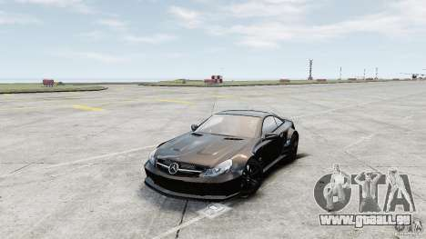 Mercedes-Benz SL65 AMG Black Series 2009 [EPM] für GTA 4