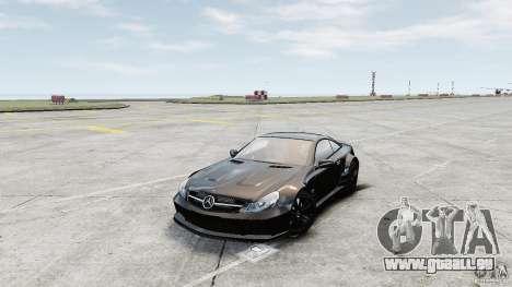 Mercedes-Benz SL65 AMG Black Series 2009 [EPM] pour GTA 4