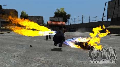 Balles de feu pour GTA 4 secondes d'écran