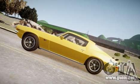 Chevrolet Camaro Z28 pour GTA 4 est une gauche
