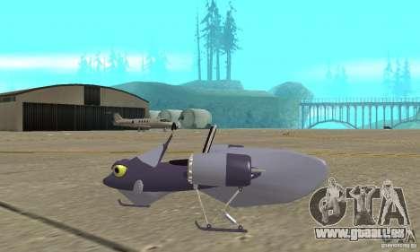 Flying Fish pour GTA San Andreas laissé vue