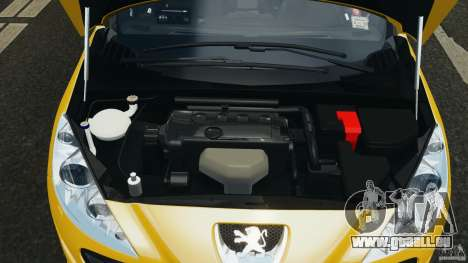 Peugeot 308 GTi 2011 Taxi v1.1 pour GTA 4 vue de dessus