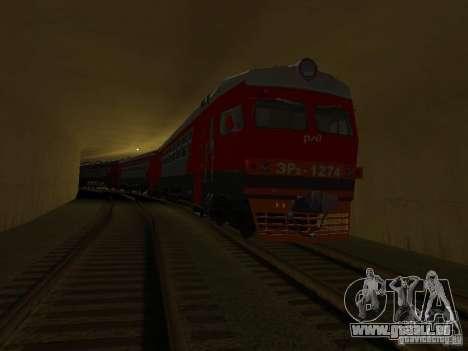 ER2 1274 RZD pour GTA San Andreas vue arrière