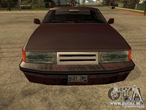 Dommages réalistes pour GTA San Andreas deuxième écran