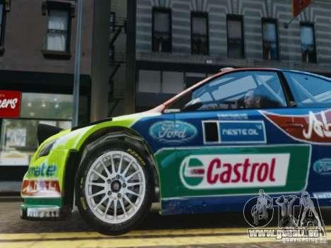 Ford Focus RS WRC für GTA 4 Seitenansicht