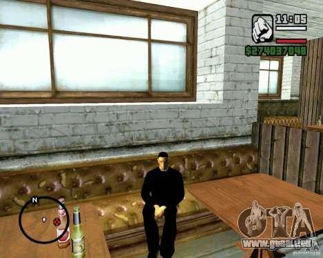 Fähigkeit zu sitzen für GTA San Andreas her Screenshot
