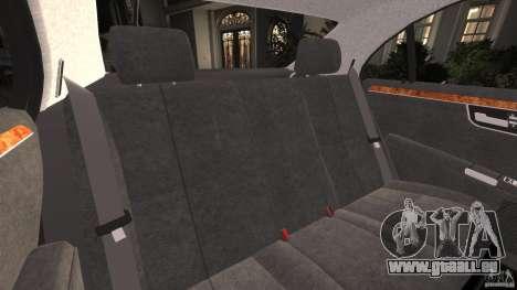 Mercedes-Benz S W221 Wald Black Bison Edition pour GTA 4 est un côté