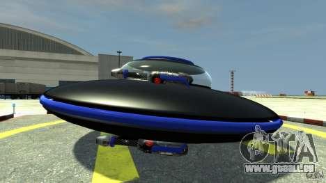 UFO neon ufo blue für GTA 4 linke Ansicht