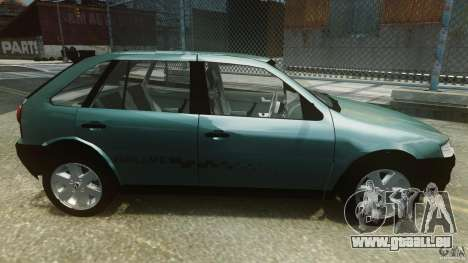 Volkswagen Gol G4 Rallye für GTA 4 linke Ansicht