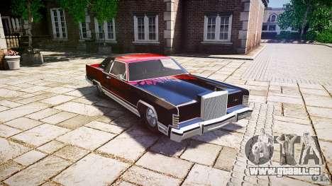 Lincoln Continental Town Coupe v1.0 1979 [EPM] pour GTA 4 est une vue de l'intérieur