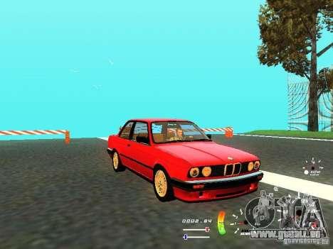 BMW E30 87-91 für GTA San Andreas linke Ansicht