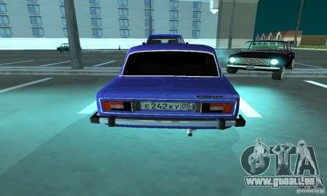 VAZ 2106 für GTA San Andreas Innen