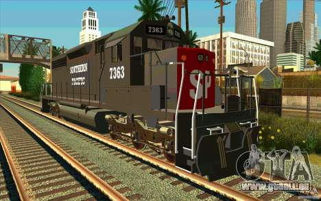 Southern Pacific SD 40 pour GTA San Andreas