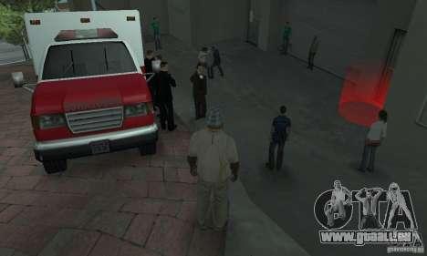 Rue combat v2 pour GTA San Andreas deuxième écran